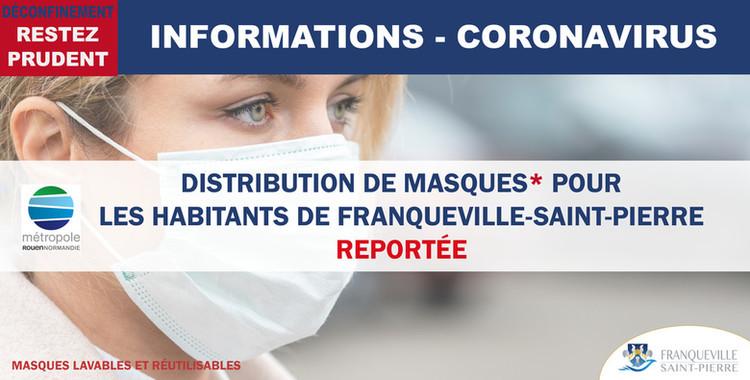 Distribution de masques de la Métropole reportée