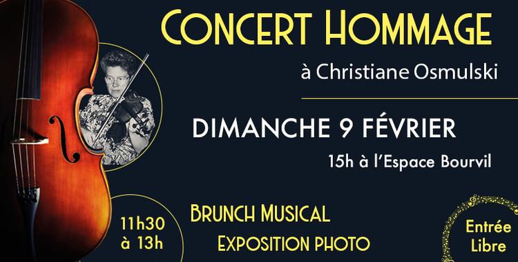 9 février : Concert Hommage à Christiane Osmulski