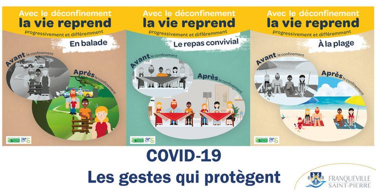 COVID-19 : Les gestes qui protègent