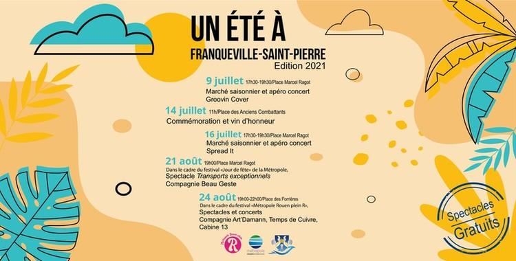 Un été à Franqueville-Saint-Pierre