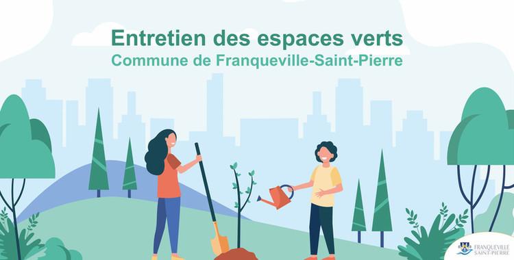 Entretien Espaces Verts à Franqueville-St-Pierre