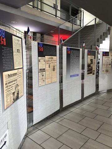 Exposition La Seconde Guerre mondiale au fil des Unes de la presse