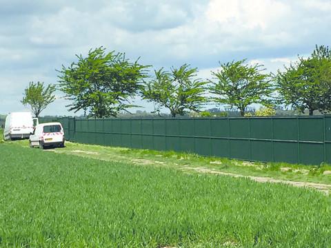 Nouvelle clôture du cimetière Notre Dame